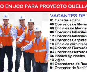 Compañia minera San Martin Contratistas Abre sus puertas