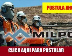 CONVOCATORIA LABORAL EMPRESA MINERA MILPO S.A.A.