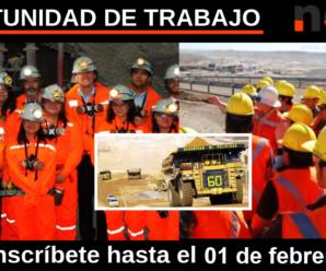 Oportunidad laboral Vacantes para trabajar en Nexa Resources 12 Plazas