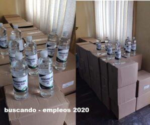 Fabrica Necesita Personal Para Empacar Alcohol Puro desde casa Plazas Limitadas