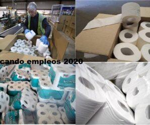 Fabrica Necesita Personal Para Empacar Rollos De Papel desde casa Vacantes Limitadas