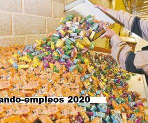 Fabrica Necesita personal para empacar caramelos desde tu casa vacantes limitadas