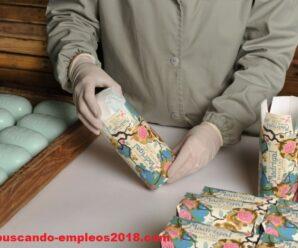 Fabrica Solicita Personal Para Empacar Jabones Artesanales Desde Casa
